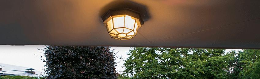 Φωτιστικά οροφής εξωτερικού χώρου