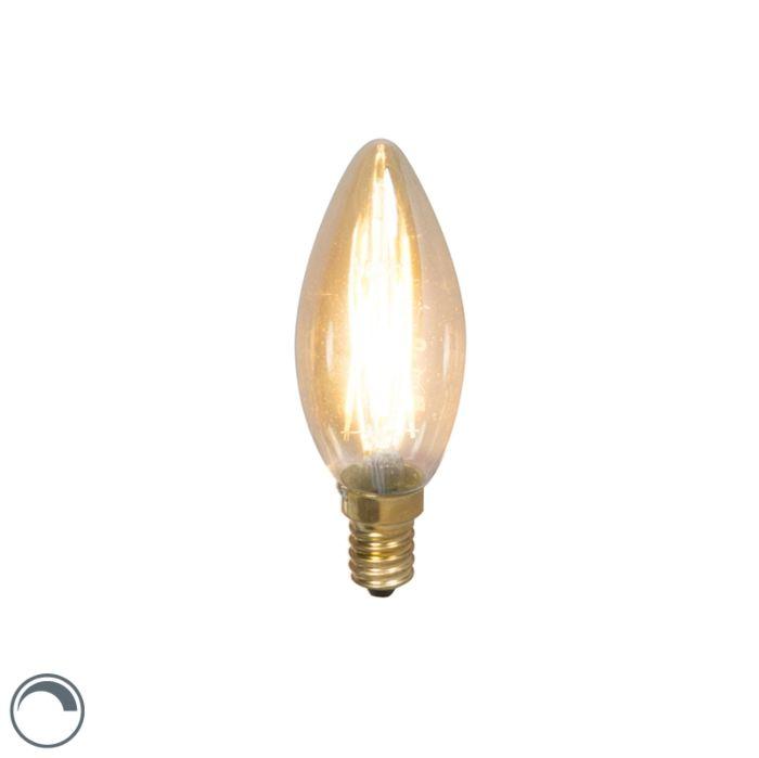 Λαμπτήρας-με-νήμα-LED-E14-240V-3,5W-200lm-με-δυνατότητα-ρύθμισης