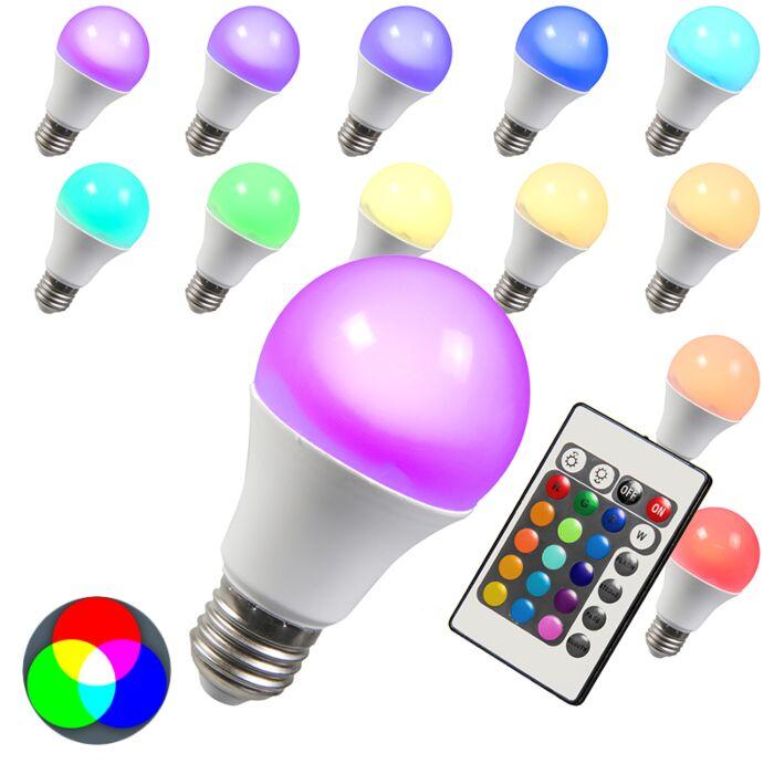 Λάμπα-LED-RGB-E27-3W