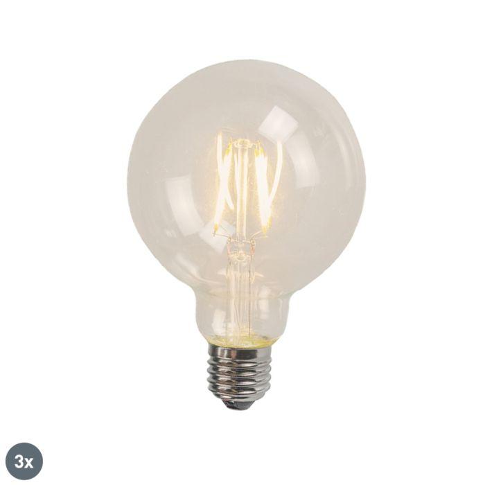 Σετ-3-E27-LED-Glühlampe-4W-470-Lumen-2700K