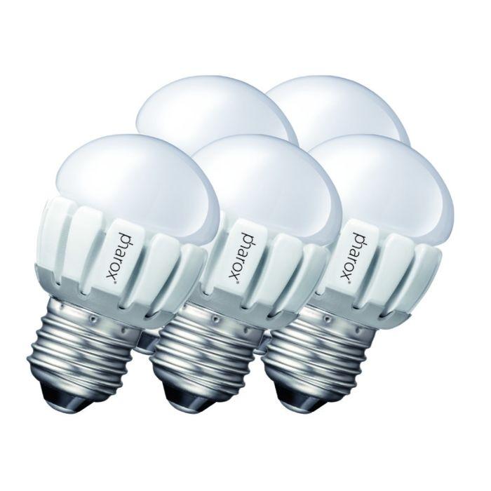 Σετ-5-Pharox-LED-200-P45-E27-5W-230V
