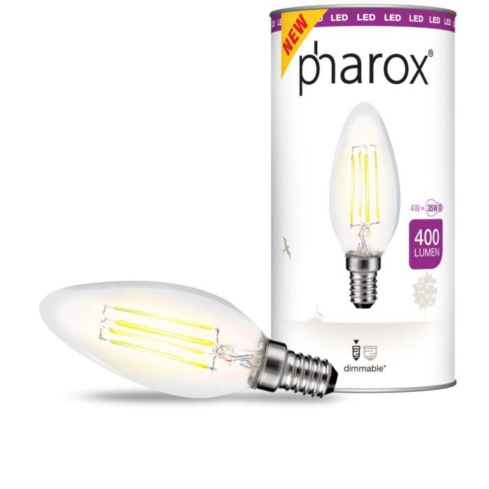 Pharox-LED-candle-lamp-clear-E14-4W-400-lumens