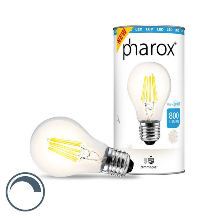 Φωτιστικό-Pharox-LED-καθαρό-E27-8W-800-lumens