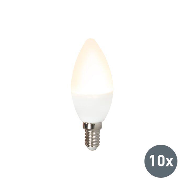 Σετ-10-λυχνιών-LED-C37-E14-3W-3000K