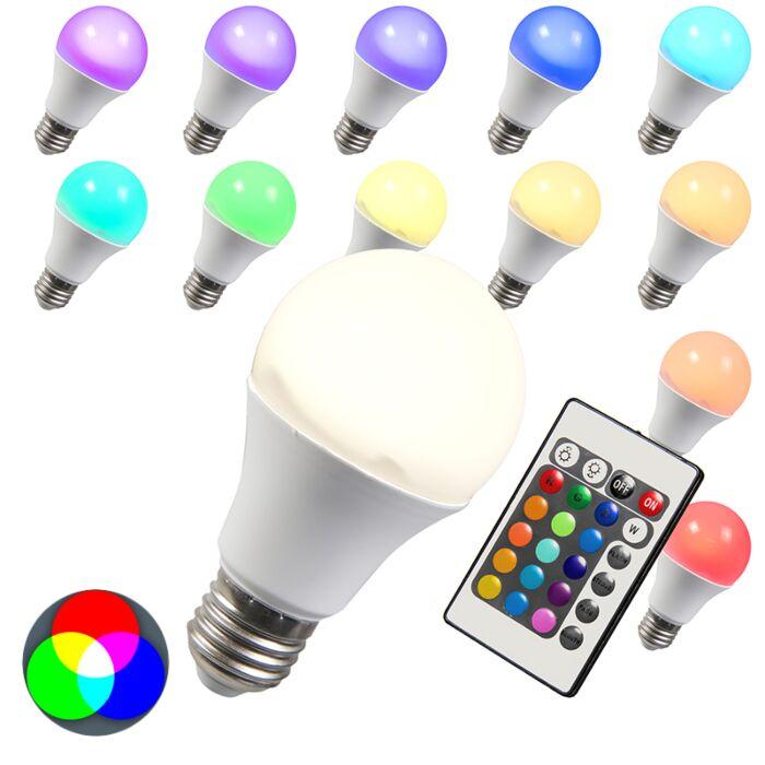 Λάμπα-LED-RGB-E27-10W-εξαιρετικά-ζεστό-λευκό