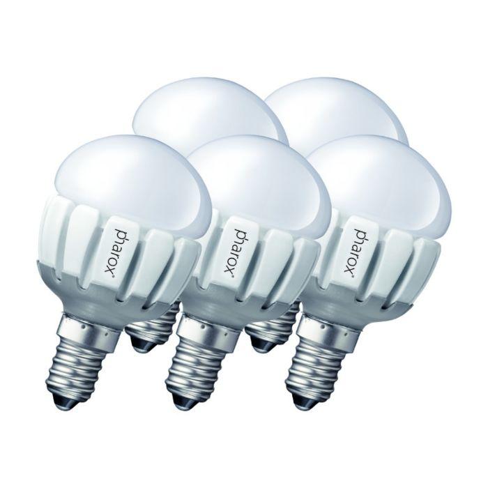 Σετ-5-Pharox-LED-200-P45-E14-5W-230V