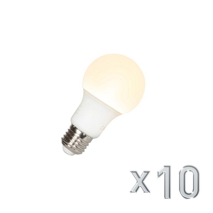 Σετ-10-λαμπτήρων-LED-A60-E27-9W-3000K