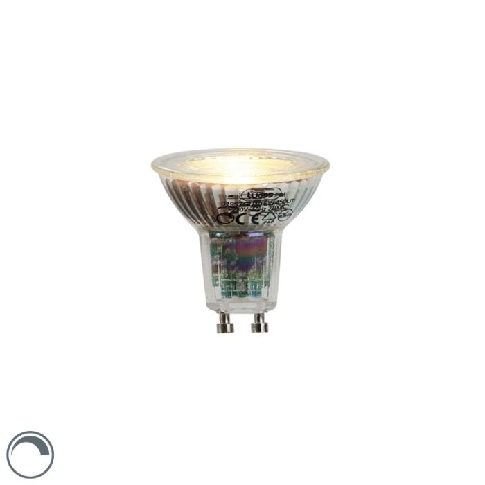 Λαμπτήρας-LED-GU10-6W-450-lumen-2700K-με-δυνατότητα-ρύθμισης