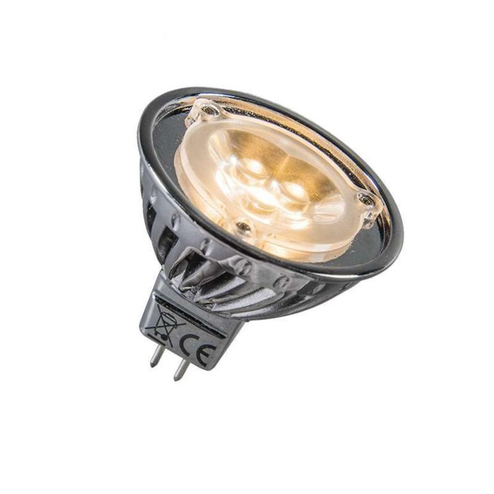 Ισχύς-LED-12V-MR16-3-x-1W-=-περίπου-30W-ζεστό-λευκό