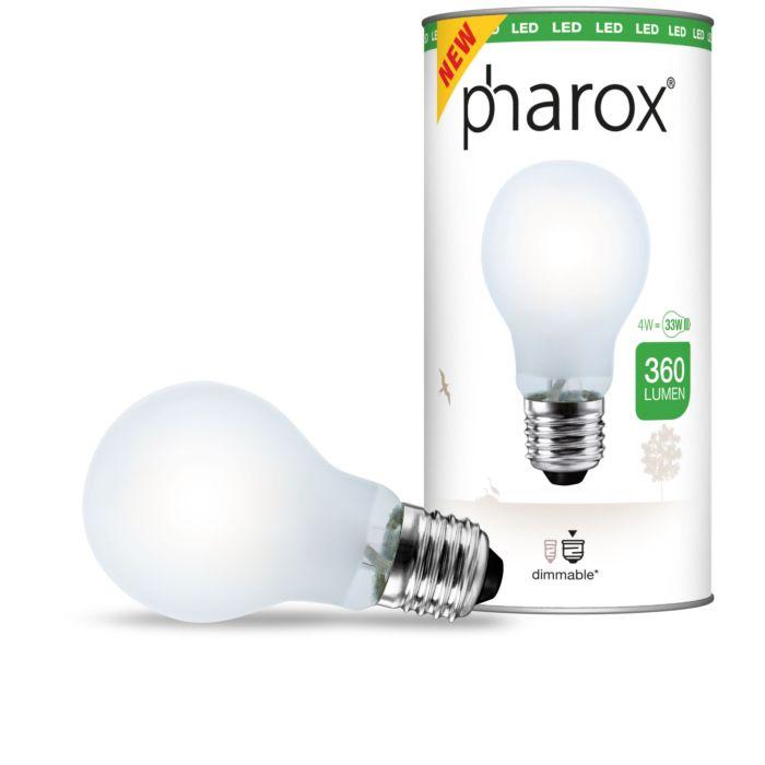 Pharox-LED-matt-E27-4W-360-lumen