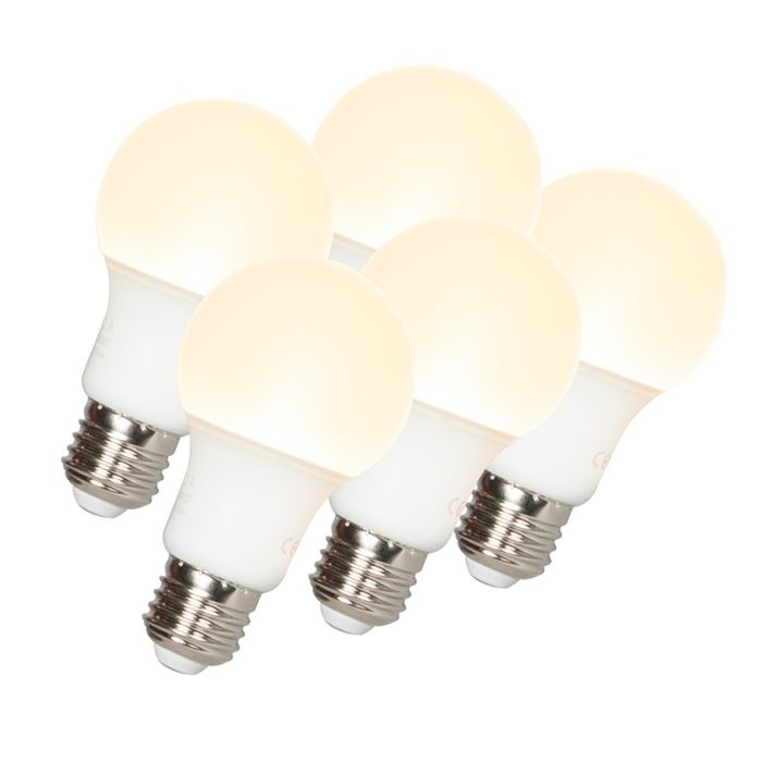 Σετ-5-λαμπτήρων-LED-A60-E27-9W-3000K
