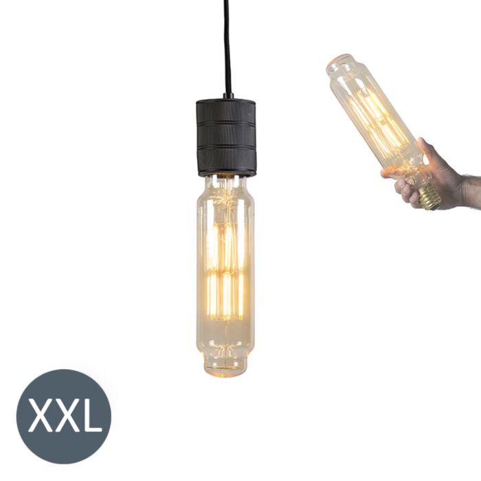 Κρεμαστή-λάμπα-Πύργος-μαύρο-με-λυχνία-LED-με-δυνατότητα-ρύθμισης