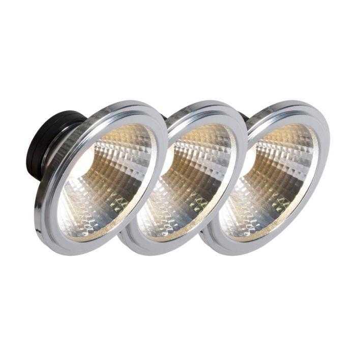 AR111-LED-λάμπα-COB-7W-24-°-σετ-3