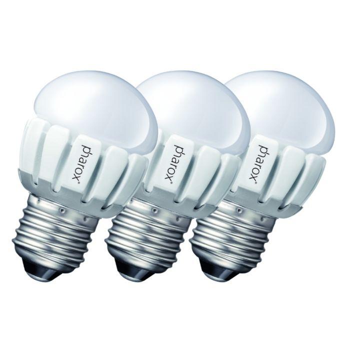 Σετ-3-Pharox-LED-200-P45-E27-5W-230V