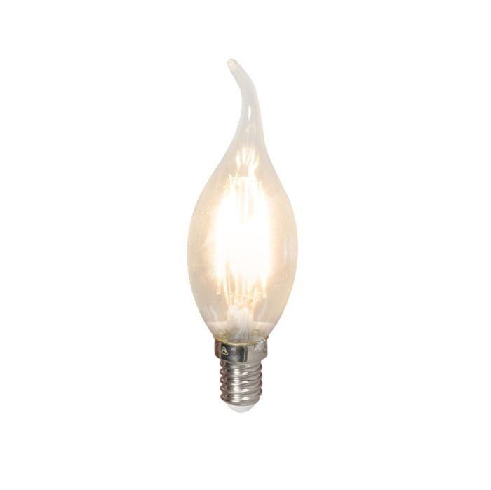Λαμπτήρας-LED-με-κεράκι-νήματος-E14-240V-3,5W-350lm-BXS35-με-δυνατότητα-ρύθμισης