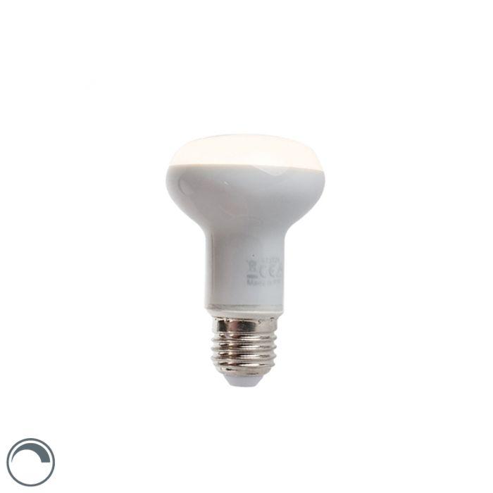 Ανακλαστήρας-LED-Dimmable-E27-5W-370-lumen-ζεστό-λευκό-2900K-R63