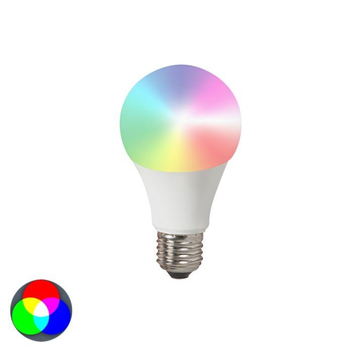 Λάμπα-LED-E27-240V-7W-500lm-A60-Έξυπνο-φως