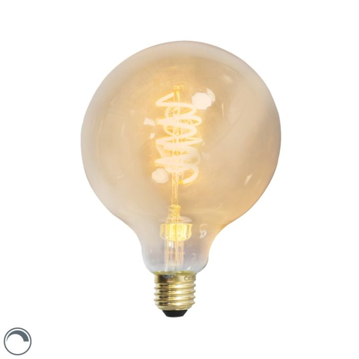 LED-στριμμένη-λαμπτήρας-πυράκτωσης-E27-240V-4W-200lm-με-δυνατότητα-ρύθμισης