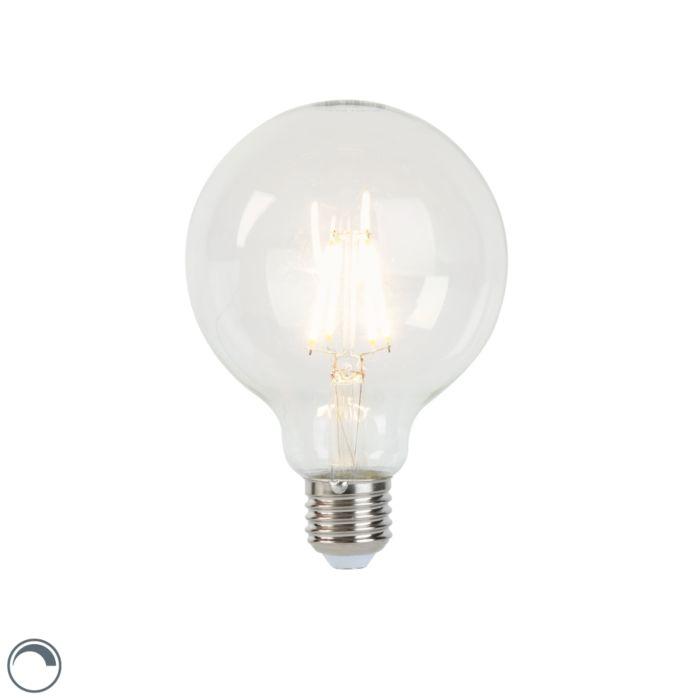 Λαμπτήρας-πυράκτωσης-LED-E27-με-δυνατότητα-dimmable-G95-5W-450lm-2700K