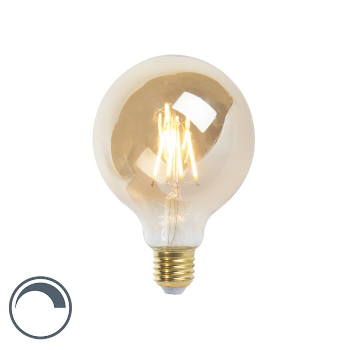 LED-E27-dimmable-νήμα-λαμπτήρα-G95-goldline-360lm-2200K