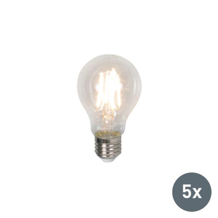 Σετ-5-λαμπτήρων-LED-E27-4W-400-lumen-ζεστό-λευκό
