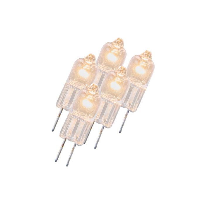 Σετ-5-λαμπτήρων-αλογόνου-G4-5W-12V-διαυγής
