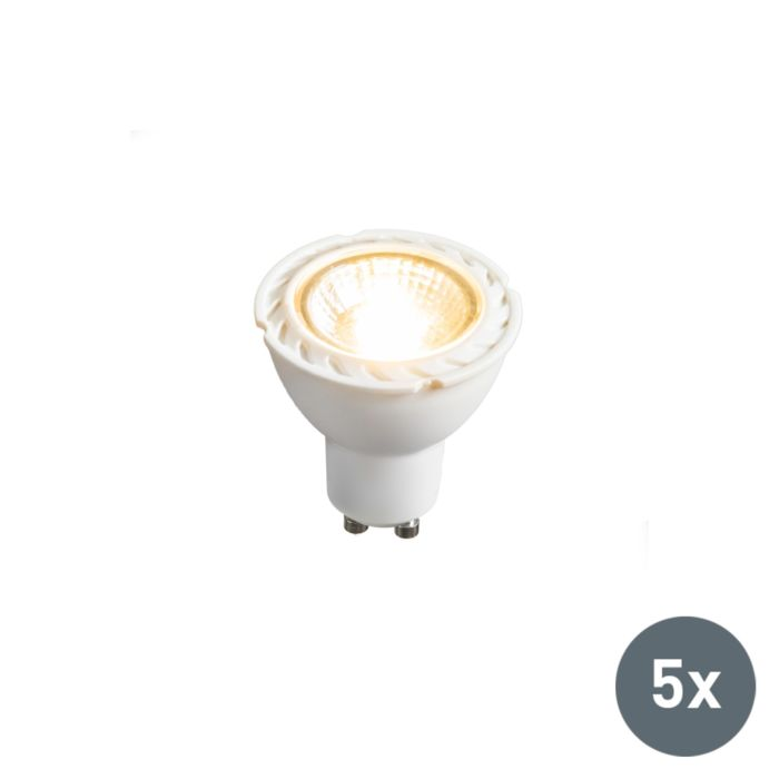 Σετ-5-λαμπτήρων-LED-GU10-240V-7W-2700K-με-δυνατότητα-ρύθμισης