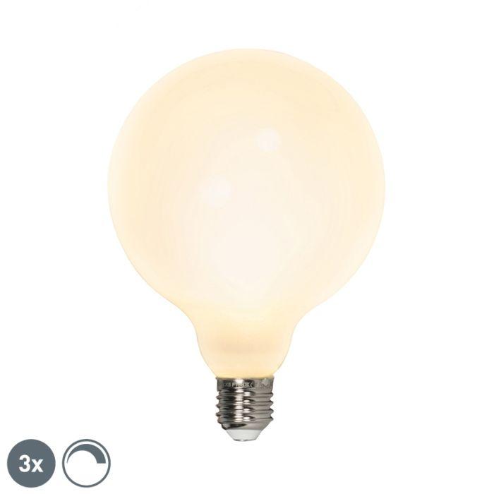 Σετ-3-σφαιρικών-λαμπτήρων-LED-E27-240V-8W-900lm-με-δυνατότητα-ρύθμισης