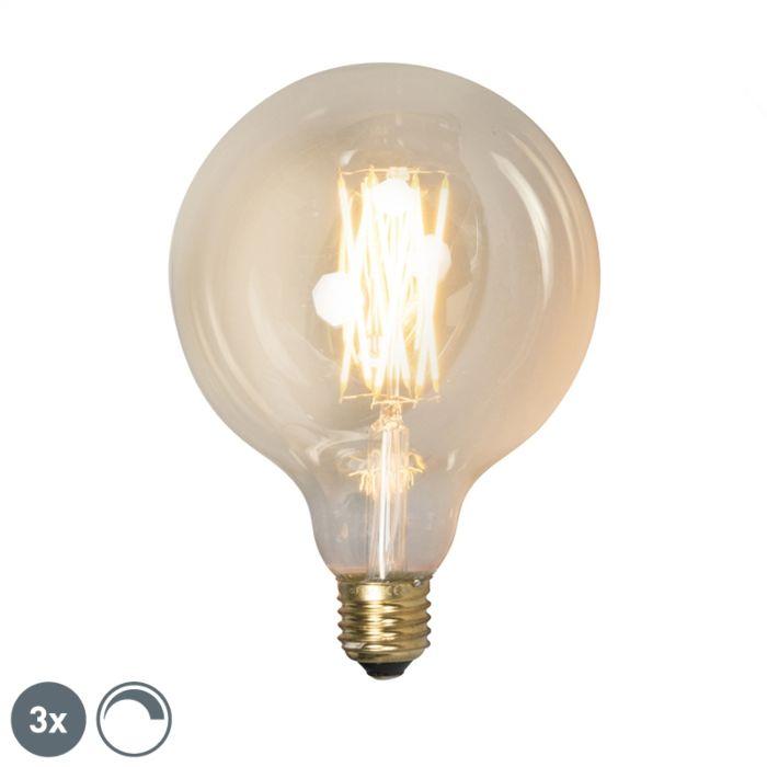 Σετ-3-λαμπτήρων-LED-με-δυνατότητα-dimmable-LED-G125-goldline-320lm-2100-K.