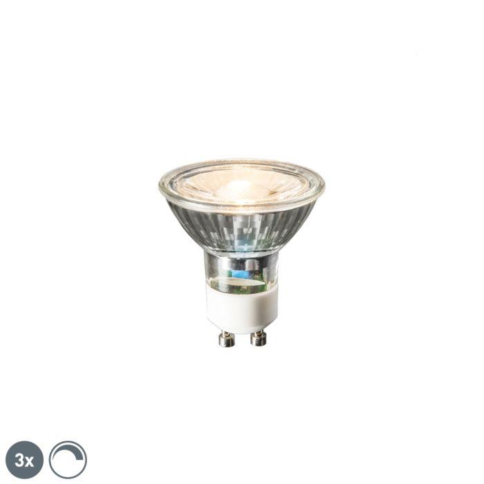 Σετ-3-λαμπτήρων-LED-GU10-6W-450-lumen-2700K-dimmable