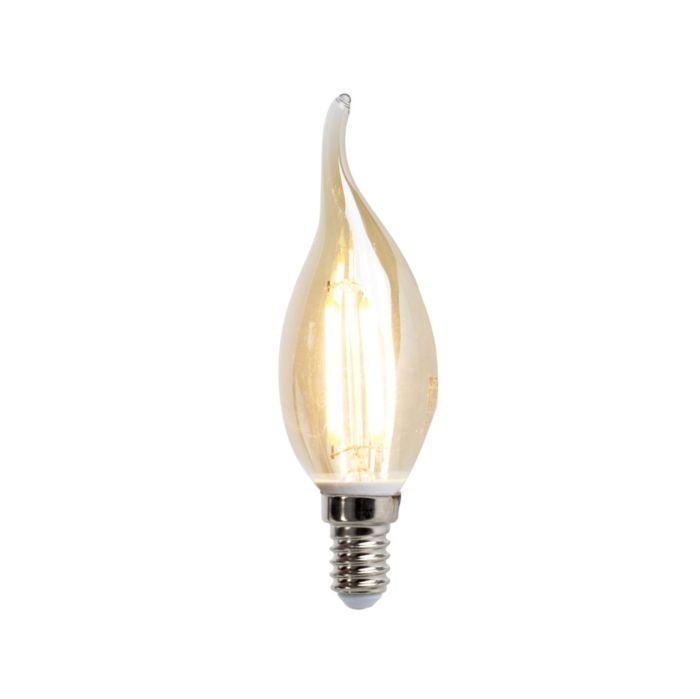 Λαμπτήρας-κεριών-με-νήμα-LED-E14-4W-350-lumen-ζεστό-λευκό-2200K