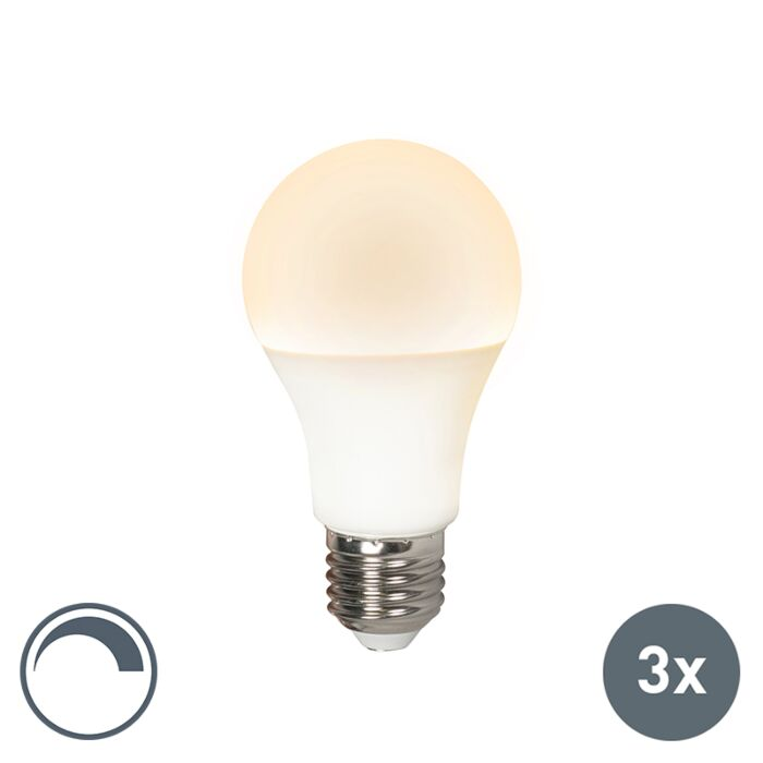 Σετ-3-λυχνιών-LED-E27-240V-10W-810lm-A60-με-δυνατότητα-ρύθμισης