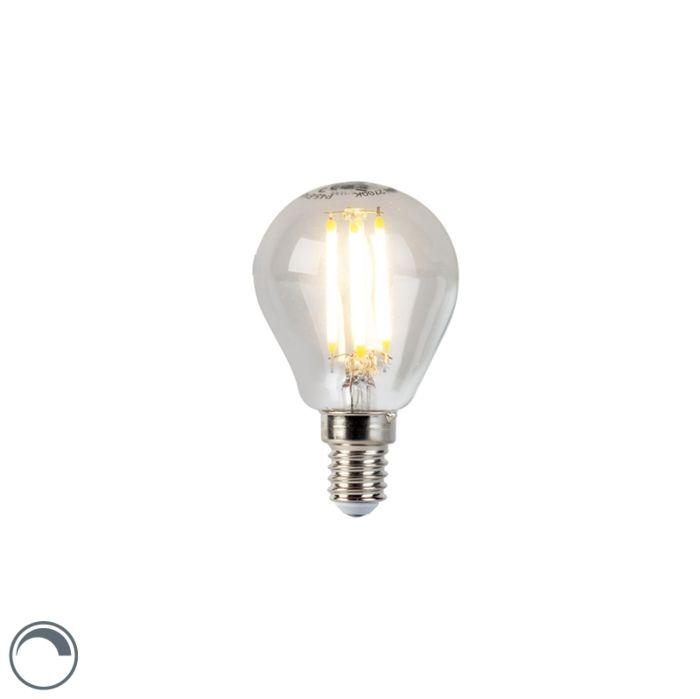 Λάμπα-με-νήμα-LED-E14-5W-470lm-P45-με-δυνατότητα-ρύθμισης