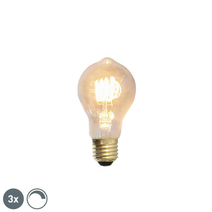 Σετ-3-Ε27-λαμπτήρων-LED-με-δυνατότητα-φωτισμού-4W-200lm-2100-K.