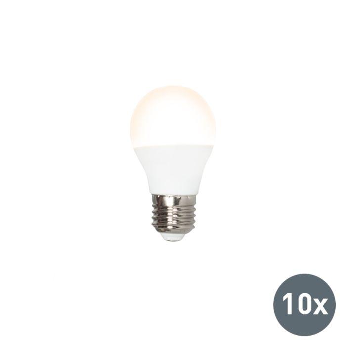 Σετ-10-λυχνιών-LED-P45-E27-3W-3000K