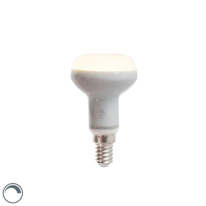 Ανακλαστήρας-LED-E14-με-δυνατότητα-ρύθμισης-φωτισμού-R50-3W-220-lm-2800K