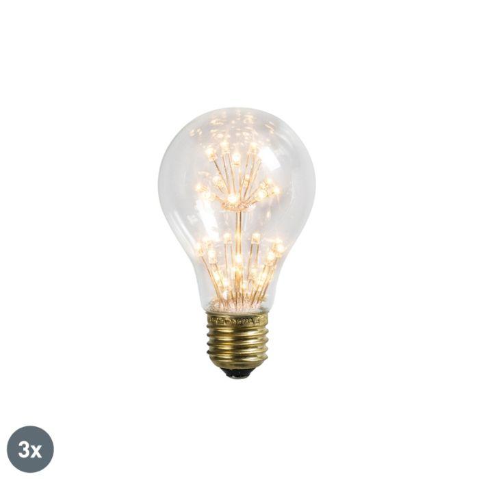 Σετ-3-λυχνιών-LED-E27-1.5W-/-136LM
