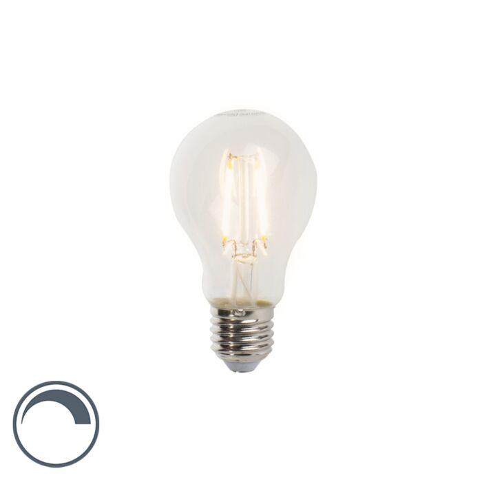 Λαμπτήρας-πυράκτωσης-LED-E27-με-δυνατότητα-dimmable-A60-5W-470lm-2700-K.