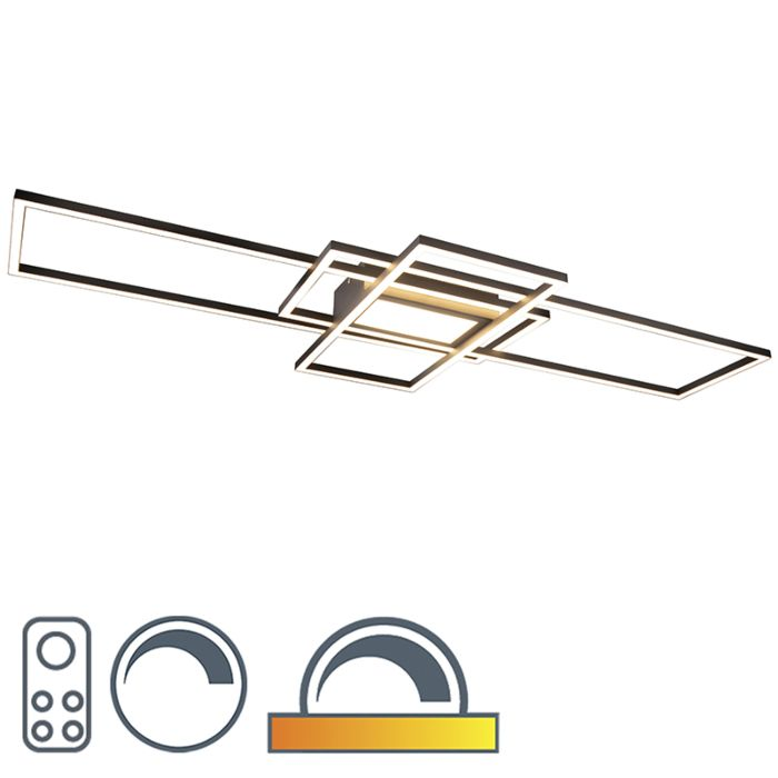 Ανώτατος-λαμπτήρας-οροφής-με-LED,-τηλεχειριστήριο---Riha