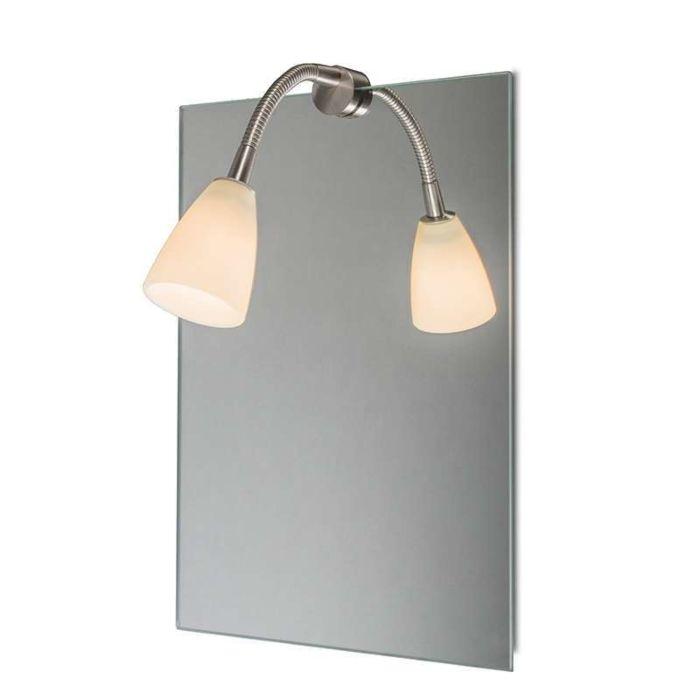 Φωτιστικό-καθρέφτη-Curvus-χάλυβα