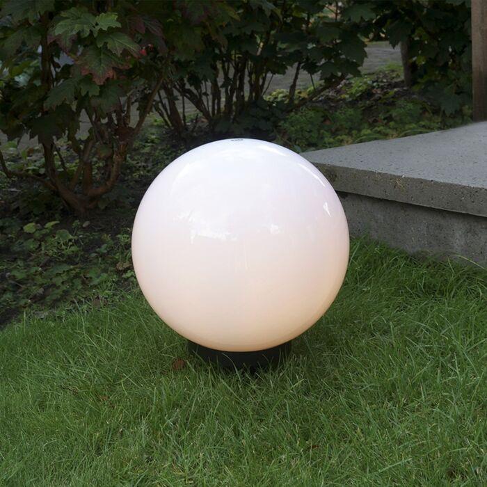Μοντέρνος-εξωτερικός-λαμπτήρας-με-ακίδα-εδάφους-30-cm-IP44---Sphere
