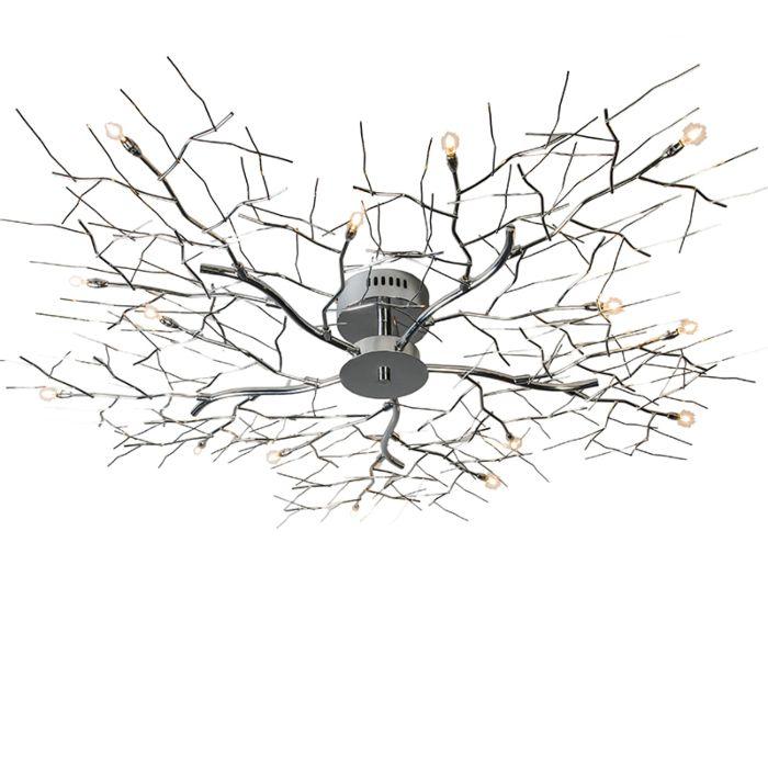 Φωτιστικό-οροφής-15-χρωμίου-Forest