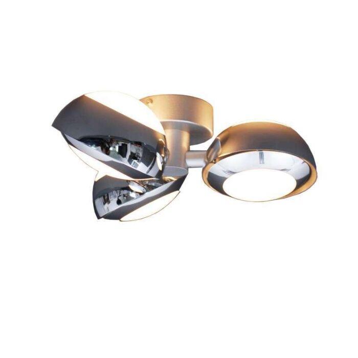 Φωτιστικό-οροφής-Curio-3-χρώμιο