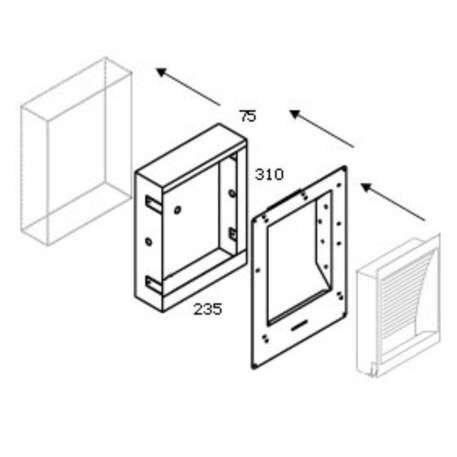 Delta-Light-Concrete-Box-139-με-γυψοσανίδα