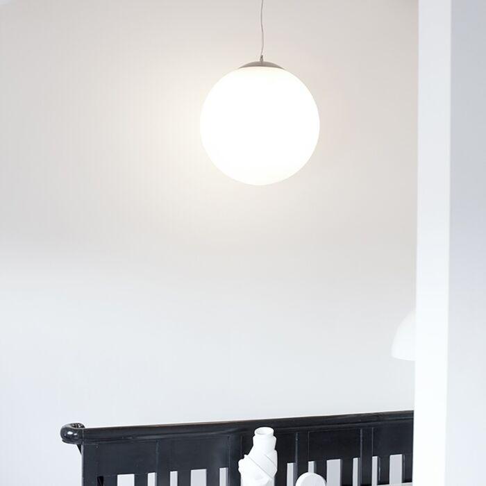 Σκανδιναβική-κρεμαστή-λάμπα-opal-glass-50cm---Ball-50