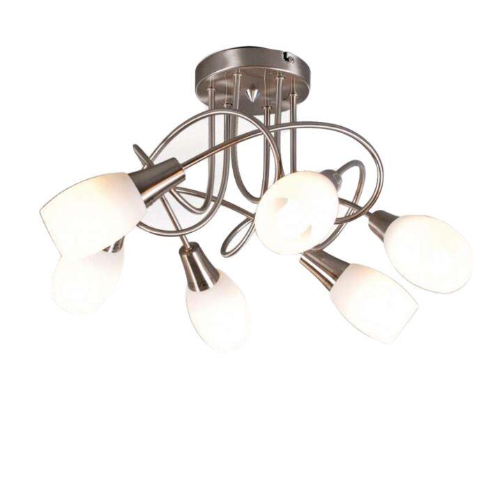 Φωτιστικό-οροφής-Andrea-6-από-χάλυβα