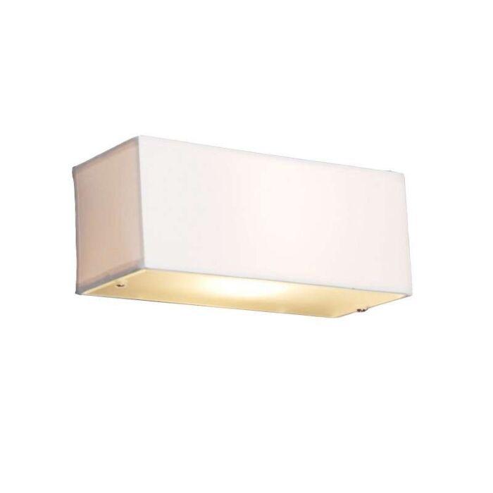 Μοντέρνο-φωτιστικό-ορθογώνιο-λευκό---τύμπανο