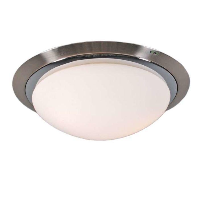 Φωτιστικό-οροφής-Barney-35-από-χάλυβα-χρώμιο
