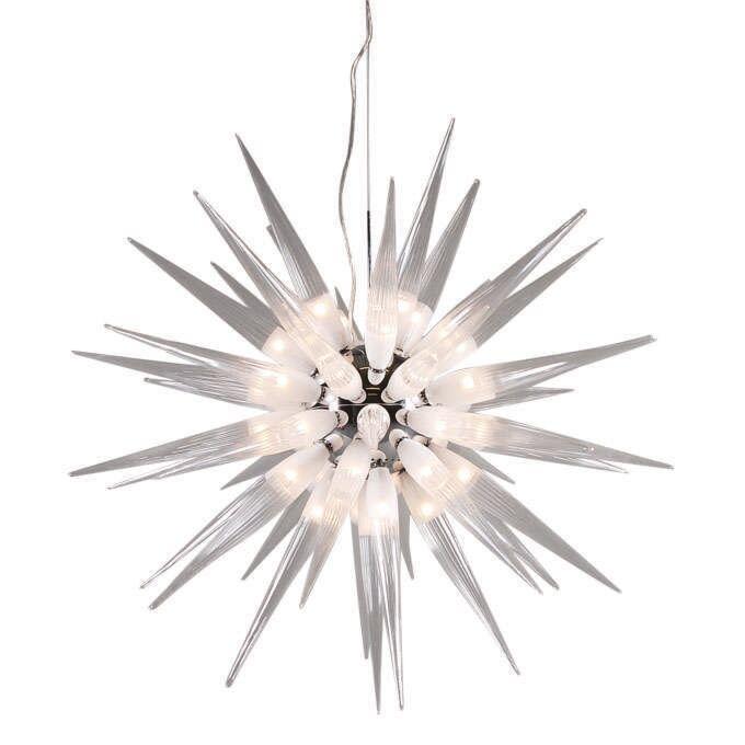 Κρεμαστή-λάμπα-White-Sun-45-φώτα