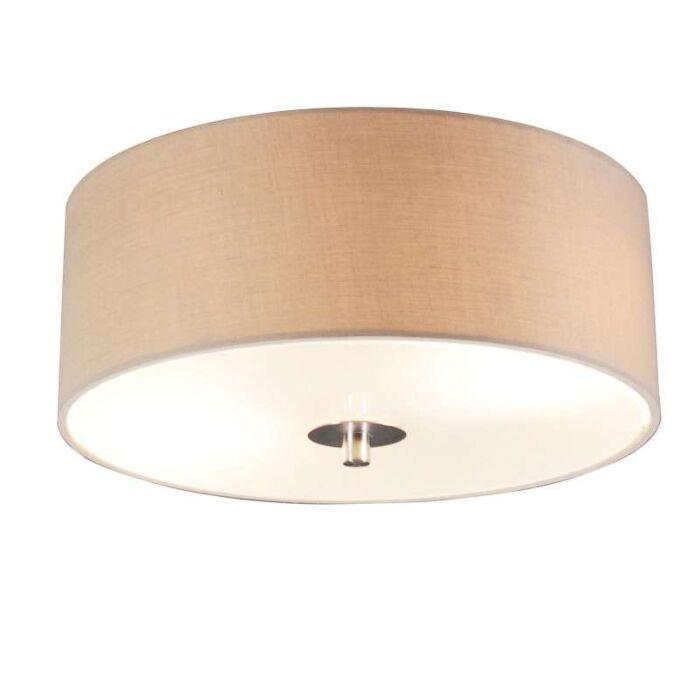 Φωτιστικό-οροφής-μπεζ-30-cm---τύμπανο